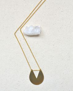 The Shape One Necklace by JewelMint.com, $55.00