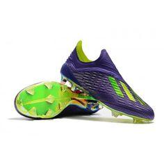 ad75eebc58 Adidas X FG Mens Football Boots - Purple Green Shop