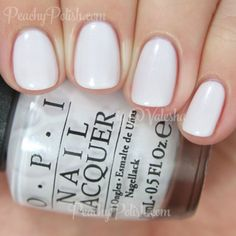 OPI Chiffon My Mind | Soft Shades 2015 | Peachy Polish