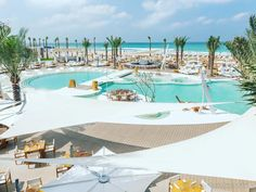 Nikki Beach Dubai landed in the city like a hurricane ready to take the crown for 'Dubai's best beach club', and in many ways, they've succeeded - famed for its celebrity clientele - they showcase the best of Miami vibes, cosmic music sets and gourmet dining.