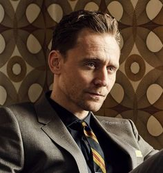 Tom Hiddleston photographed by Nathaniel Goldberg.