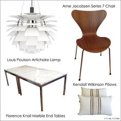 Items available at the coolest online consignment shop imaginable. Learn all about it at http://www.ifitshipitshere.com/previously-owned-by-a-gay-man/ #louispoulson  #knoll #arnejacobsen  and #wilkinson