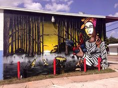 Port Houston mural Created by Jeff Garcia and assistant Javier
