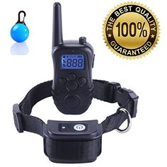 New Version Havenfly 330 Yards Remote Dog Training Collar Rechargeable and Waterproof Anti Barking Collar with Beep Vibration Sound Stimulations flash of light Sleep for 1 Dog * Continue to the product at the image link. This is an Amazon Affiliate links.