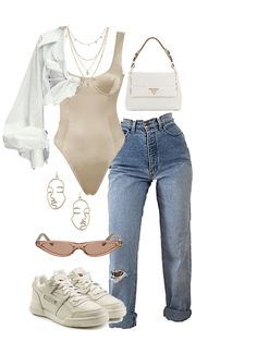 """tenue prada beige - tenue prada beige """"tenue prada beige You are in the right place about trends styles Here we offe - Prada Outfits, Teen Fashion Outfits, Swag Outfits, Retro Outfits, Cute Casual Outfits, Look Fashion, Stylish Outfits, Girl Outfits, Spring Fashion"""
