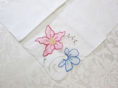 Vintage Madeira Handkerchief Detached Applique by VintageLinens