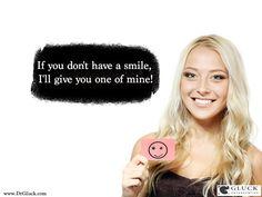 http://www.drgluck.com/2015/01/dont-smile-ill-give-one-mine/  Gluck Orthodontics - 2002 Richard Jones Road, Suite A-200, Nashville, TN 37215 Phone: 615 269 5903 #BeautifulSmile #DreamSmile #Orthodontics