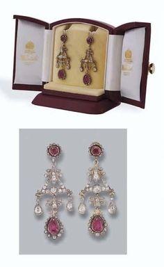 Princess Margaret's earrings