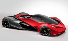Ferrari Ineo Concept: Ferrari Ineo Concept Photo 10 of More high resolution images related to the same subject are also available Sport Cars, Race Cars, New Luxury Cars, Reverse Trike, Exotic Sports Cars, Futuristic Cars, Expensive Cars, Automotive Design, Motor Car