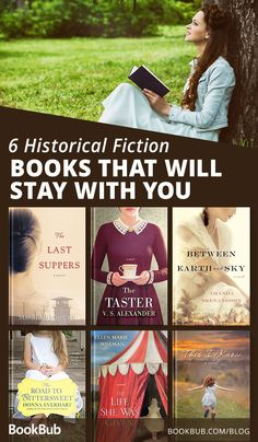 These historical fiction books will transport you to other eras with storylines so engrossing they'll stay with you long after you've finished!     #historical #fiction #books #club #book