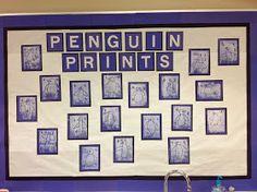 Mrs. T's First Grade Class: Penguin Prints
