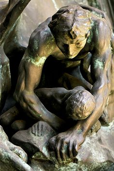 Detail, The Gates of Hell, Rodin Modern Sculpture, Sculpture Clay, Abstract Sculpture, Metal Sculptures, Bronze Sculpture, Auguste Rodin, Musée Rodin, Rodin Artist, Rodin Museum