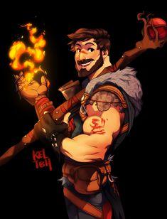 Champion of Kirkwall. Garrett Hawke. Dragon Age II