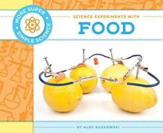 Science Experiments with Food