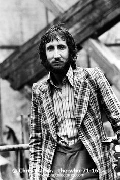 The Who  Photo Caption: Pete Townshend 1971 The Who