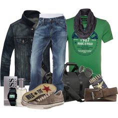 Sport Men by marta-cercols on Polyvore
