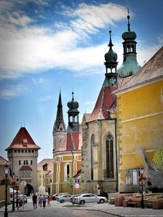 Old quarter of Kőszeg, Hungary Beautiful Places To Visit, Cool Places To Visit, Travel Around The World, Around The Worlds, Destinations, Hungary Travel, Heart Of Europe, Austro Hungarian, Historical Architecture