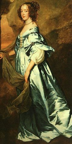 1636 Anne, Countess of Clanbrassil, Sir Anthony Van Dyck