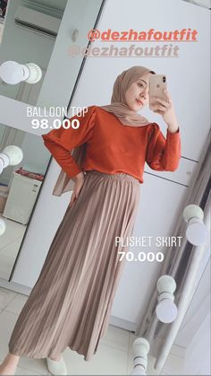 Street Hijab Fashion, Workwear Fashion, Muslim Fashion, Korean Fashion, Fashion Outfits, Casual Hijab Outfit, Ootd Hijab, Hijab Chic, Style Hijab Simple