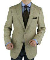 Luciano Natazzi Men's Camel Hair Blazer Modern Fit Jacket