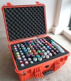 Nail Polish in a tool case