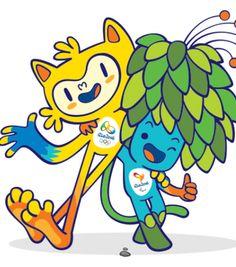 Rio 2016: mascotes recebem chave da cidade; Paes entrega voto para nome ~ Revista Novo Perfil Esporte