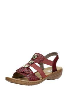 9206f6ed9be3 Comfortabele dames sandaal rieker