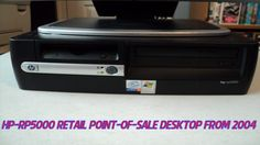 HP rp-5000 Point Of Sale Desktop From 2004
