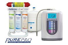 PurePro® ERO-Q5 -  PurePro Hydrogen-rich water, hydrogen gas bubbles in your glass, Super anti-oxidant water, High negative ORP water (to fight free radicals), Smaller molecular. Visit : http://www.pureprousa.com/