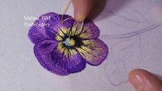 Bordado manual de flores em tecido   Cantinho do Video