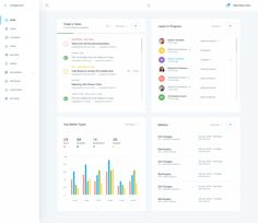 Dribbble - dashboard-home.png by Balkan Brothers