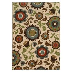 Featuring the look of an expensive hand-hooked design at a fraction of the price this over-scale floral area rug will make an attractive addition to your homes decor. Description from pinterest.com. I searched for this on bing.com/images
