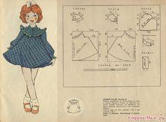 Diy idea how to make tutorial sew girl dress