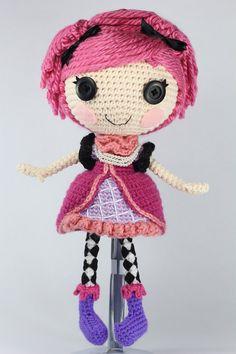 PATTERN Confetti Crochet Amigurumi Doll by epickawaii on Etsy