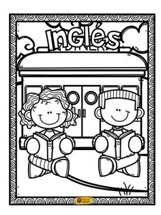 Kids English, English Class, Borders And Frames, Activity Sheets, English Vocabulary, Colorful Pictures, Lions, Coloring Pages, Clip Art
