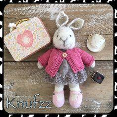 Little cotton rabbit van sokkenwol