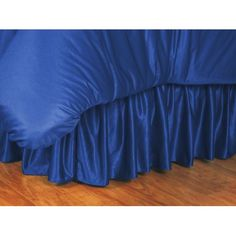 Sports Coverage 30JRBSKBBLUFULL NCAA Ucla Bruins Full Bedskirt in Bright Blue