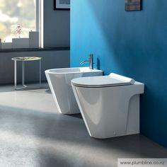 Zero 55 Floor Mount Toilet With Slim Seat - Toilets & Bidets - Bathroom Bellisima, Contemporary Design, Sweet Home, Sink, Bathtub, Flooring, Home Decor, Bathrooms, Products