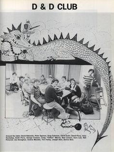 1983 Dungeons and Dragons club