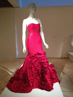 My Alex Perry wedding dress on show at the After Five exhibition. #Alex Perry #Tara Moss