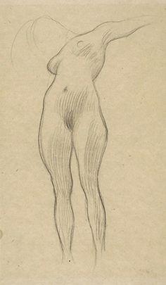 gustav klimt pencil drawings  | Gustav Klimt Drawings