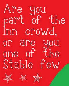 I love this quote... Christmas Printable