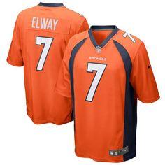 John Elway Denver Broncos Nike Retired Player Game Jersey - Orange - $99.99