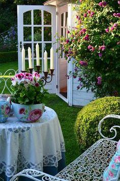 Lovely garden spot