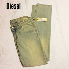 Diesel Clush Wash 0070X New With Tag. 5 pocket light stone blue wash with white button & rivets. No holes / No stains / No damage. Excellent condition :) Gorgeous Jeans. Soft feel. 82% cotton and 18% polyester. Made in Italy Diesel Jeans