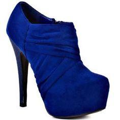 Royal Blue Shoes Heels