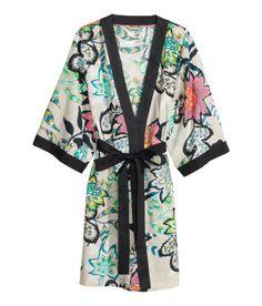 Love this kimono bathrobe from h&m