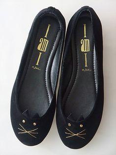 cat flat shoes
