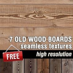 Packs  - TEXTURES - Wood - Free old wood boards seamless textures collection…