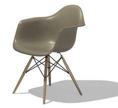 イームズシェルアームチェア DAW,スパロー    Charles & Ray Eames,1951
